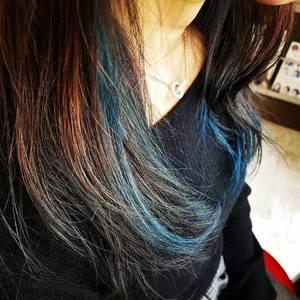 ロングもインナーカラー|hair&make Sawa 東御店のヘアスタイル