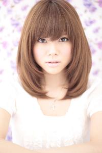 黒髪でも似合う髪型(030)