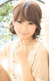 黒髪でも似合う!小顔髪型ゆるふわパーマヘアカタログ〜顔型別アレンジ編002