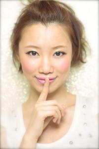 黒髪でも似合う!小顔髪型ゆるふわパーマヘアカタログ〜顔型別アレンジ編009