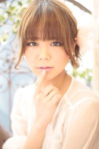 黒髪でも似合う!小顔髪型ゆるふわパーマヘアカタログ〜ラクラク可愛いアレンジ(え-091)