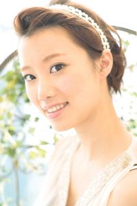 黒髪でも似合う!小顔髪型ゆるふわパーマヘアカタログ〜ラクラク可愛いアレンジ(え-095)