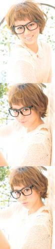 黒髪でも似合う!小顔髪型ゆるふわパーマヘアカタログ〜ラクラク可愛いアレンジ(え-098)