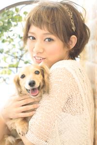 黒髪でも似合う!小顔髪型ゆるふわパーマヘアカタログ〜ラクラク可愛いアレンジ(え-099)