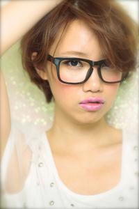 黒髪でも似合う!小顔髪型ゆるふわパーマヘアカタログ〜顔型別アレンジ編019