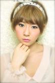 黒髪でも似合う!小顔髪型ゆるふわパーマヘアカタログ〜顔型別アレンジ編028
