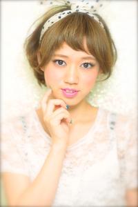 黒髪でも似合う!小顔髪型ゆるふわパーマヘアカタログ〜顔型別アレンジ編89