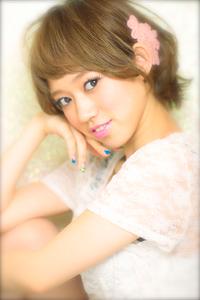 黒髪でも似合う!小顔髪型ゆるふわパーマヘアカタログ〜顔型別アレンジ編90