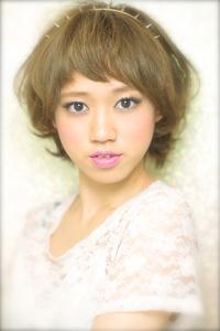 黒髪でも似合う!小顔髪型ゆるふわパーマヘアカタログ〜顔型別アレンジ編96