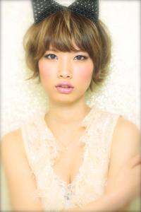 黒髪でも似合う!小顔髪型ゆるふわパーマヘアカタログ〜顔型別アレンジ編99