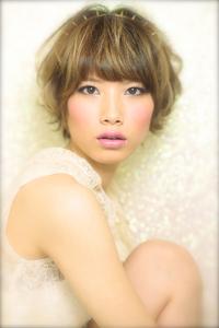 簡単にできる大人小顔 顔型別アレンジ特集03