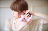 丸顔面長の悩みを解決出来るヘアスタイル018
