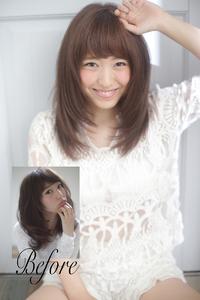 似合う髪型顔型分析診断ヘアスタイル037
