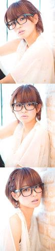 大人の小顔髪型ゆるふわパーマヘアカタログ〜簡単アレンジ(う-030)