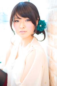 大人の小顔髪型ゆるふわパーマヘアカタログ〜簡単アレンジ(う-036)