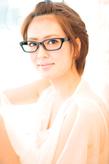 大人の小顔髪型ゆるふわパーマヘアカタログ〜簡単アレンジ(う-043)