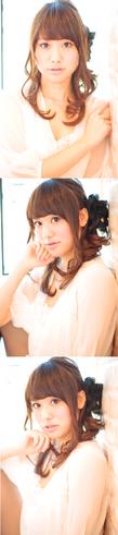 大人の小顔髪型ゆるふわパーマヘアカタログ〜簡単アレンジ(う-050)