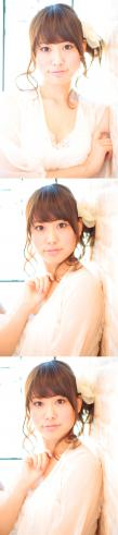 大人の小顔髪型ゆるふわパーマヘアカタログ〜簡単アレンジ(う-051)