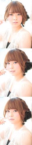 大人の小顔髪型ゆるふわパーマヘアカタログ〜簡単アレンジ(う-086)
