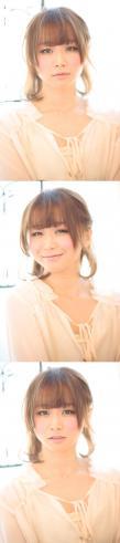 大人の小顔髪型ゆるふわパーマヘアカタログ〜ラクラク可愛いアレンジ(え-002)