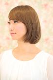 顔型別 お悩み解決ヘア ー5歳若返り 小顔に見える髪型(j-11)