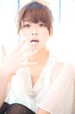 黒髪でも似合う!小顔髪型ゆるふわパーマヘアカタログ〜ラクラク可愛いアレンジ(え-060)