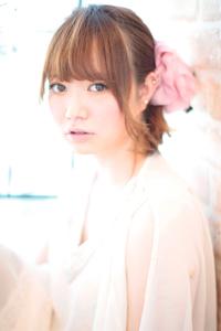 黒髪でも似合う!小顔髪型ゆるふわパーマヘアカタログ〜ラクラク可愛いアレンジ(え-063)