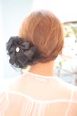 黒髪でも似合う!小顔髪型ゆるふわパーマヘアカタログ〜ラクラク可愛いアレンジ(え-078)