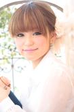 黒髪でも似合う!小顔髪型ゆるふわパーマヘアカタログ〜ラクラク可愛いアレンジ(え-082)