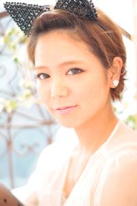 黒髪でも似合う!小顔髪型ゆるふわパーマヘアカタログ〜ラクラク可愛いアレンジ(え-086)