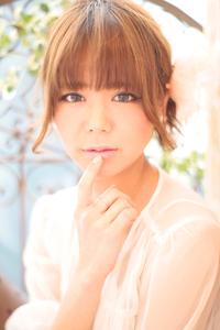黒髪でも似合う!小顔髪型ゆるふわパーマヘアカタログ〜ラクラク可愛いアレンジ(え-092)