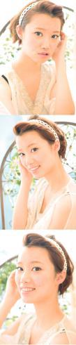 黒髪でも似合う!小顔髪型ゆるふわパーマヘアカタログ〜ラクラク可愛いアレンジ(え-096)