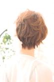 黒髪でも似合う!小顔髪型ゆるふわパーマヘアカタログ〜顔型別アレンジ編004