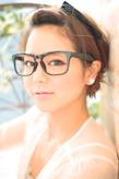 黒髪でも似合う!小顔髪型ゆるふわパーマヘアカタログ〜顔型別アレンジ編006