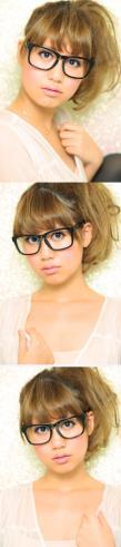 黒髪でも似合う!小顔髪型ゆるふわパーマヘアカタログ〜顔型別アレンジ編026