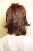 黒髪でも似合う!小顔髪型ゆるふわパーマヘアカタログ〜顔型別アレンジ編040