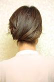 黒髪でも似合う!小顔髪型ゆるふわパーマヘアカタログ〜顔型別アレンジ編68