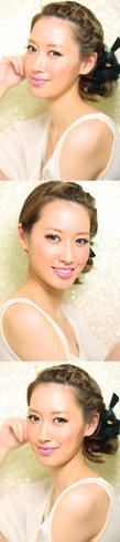 黒髪でも似合う!小顔髪型ゆるふわパーマヘアカタログ〜顔型別アレンジ編80