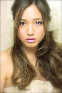 黒髪でも似合う!小顔髪型ゆるふわパーマヘアカタログ〜顔型別アレンジ編82
