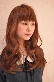 ショートバングウェーブ SIECLE hair&spa 銀座店のヘアスタイル