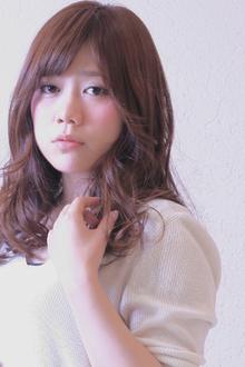 女子力高め!ゆるふわウェーブ♪|SIECLE hair&spa 銀座店のヘアスタイル