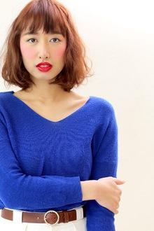 ドライな質感でマンネリ気味なボブスタイルに差をつける!!|SIECLE hair&spa 銀座店のヘアスタイル