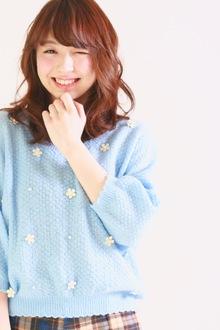 ハッピーオーラ全開☆ミディアムウェーブ|SIECLE hair&spa 銀座店のヘアスタイル