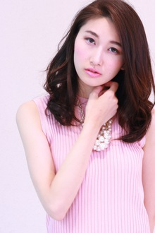 大人の余裕漂う☆美シルエットカール|SIECLE hair&spa 銀座店のヘアスタイル