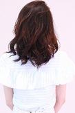 毛流れで魅せる☆ミディアムウェーブ