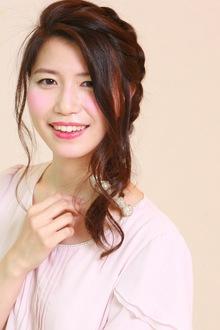 いろいろMIX☆サイドアレンジスタイル|SIECLE hair&spa 銀座店のヘアスタイル