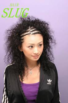 SLUG☆オリジナルロッド☆でかける! チョップスティックパーマ!|SLUG+のヘアスタイル