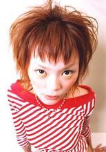 前髪が印象的な☆女の子っぽい☆ショートスタイル!|SLUG+ 藤井 カコのヘアスタイル