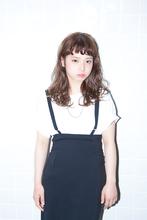 相反する質感で見せるMIXモードスタイル☆ snob AnBlickのヘアスタイル