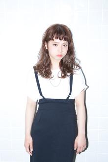 相反する質感で見せるMIXモードスタイル☆|snob AnBlickのヘアスタイル
